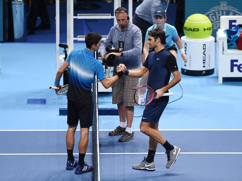 Masters: Federer nas «meias» após vitória sobre Djokovic