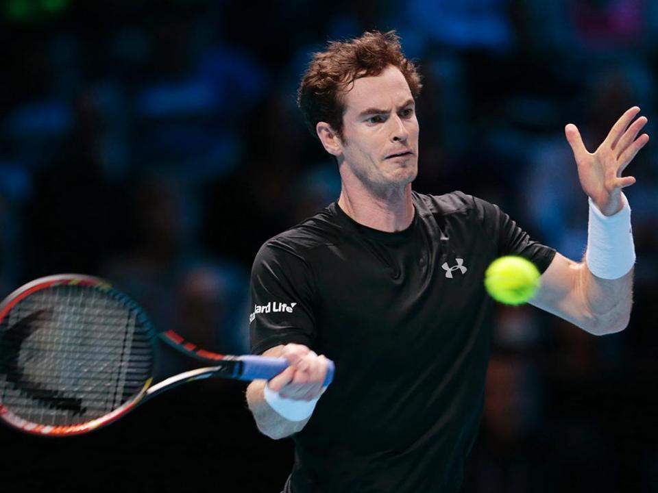 Andy Murray cortou o próprio cabelo a meio do jogo com Rafa Nadal