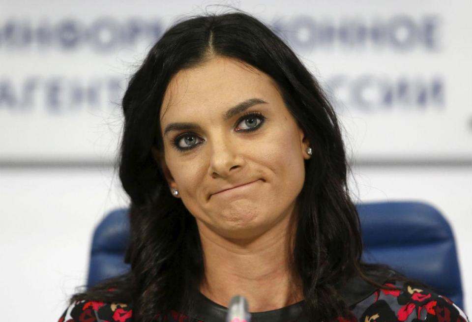 Isinbayeva demite-se da agência antidopagem da Rússia