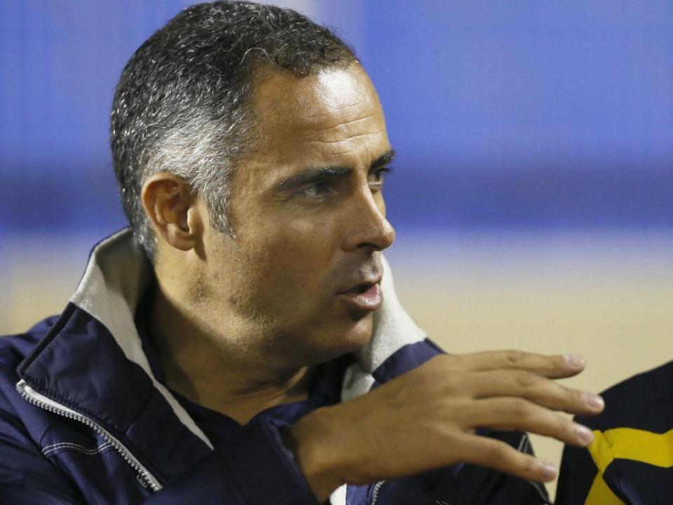 José Gomes em conversações com o campeão saudita