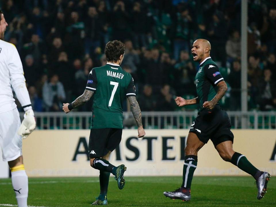 LE, Grupo C: Krasnodar fica com o primeiro lugar