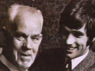 Bob Bishop e George Best