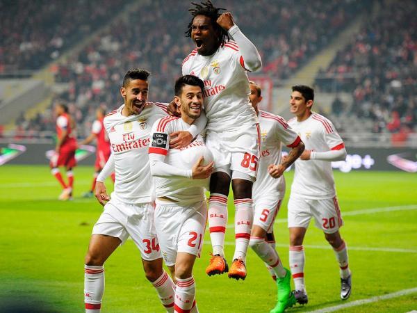 Sp. Braga-Benfica, 0-2 (destaques)