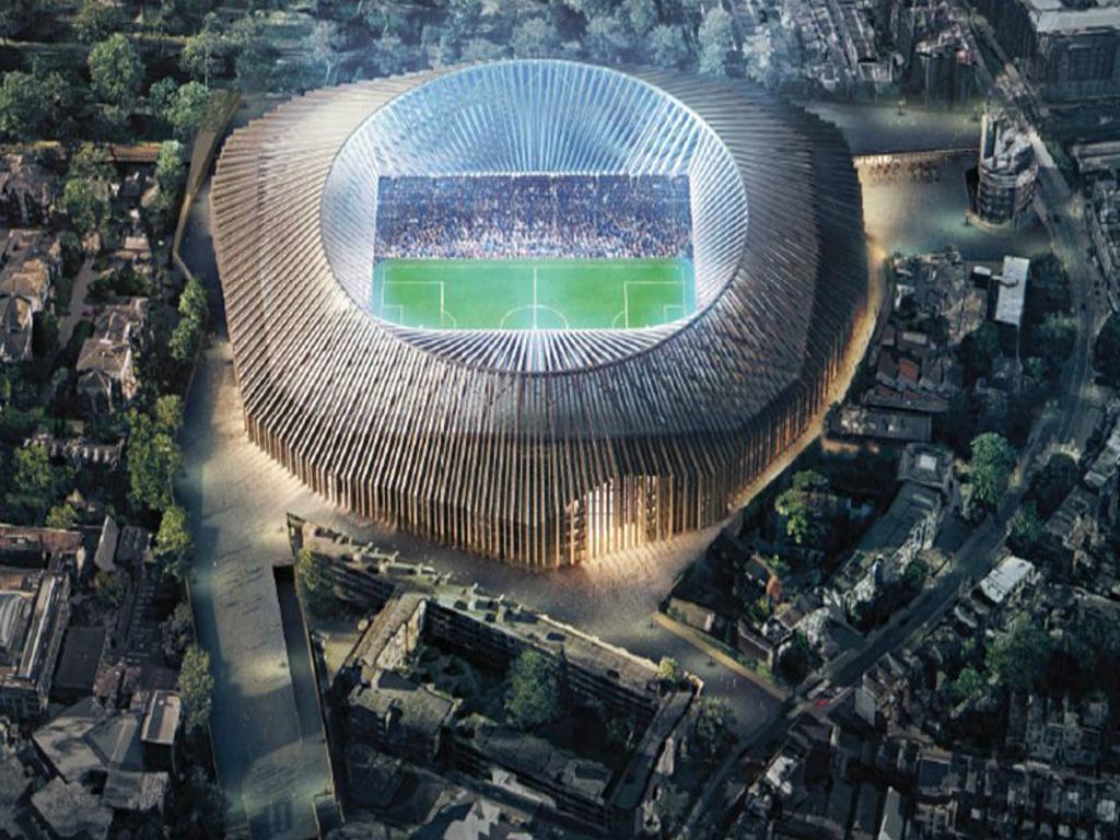 Família faz queixa que novo estádio do Chelsea... lhe tira o sol