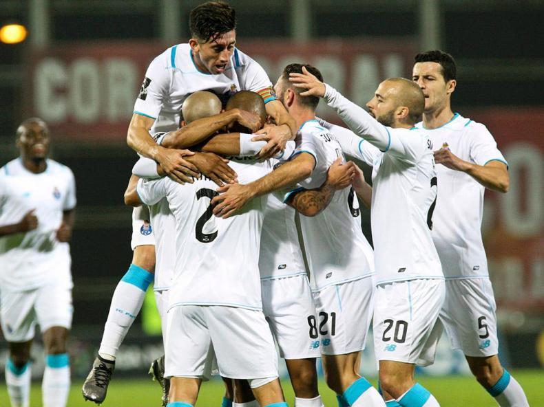 União Madeira-FC Porto (Lusa)