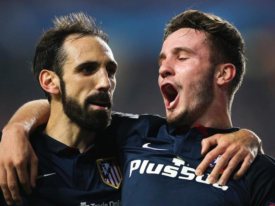 Gabi e Juanfran renovaram com o Atl. Madrid