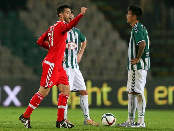 V.Setúbal-Benfica, 2-4 (destaques)