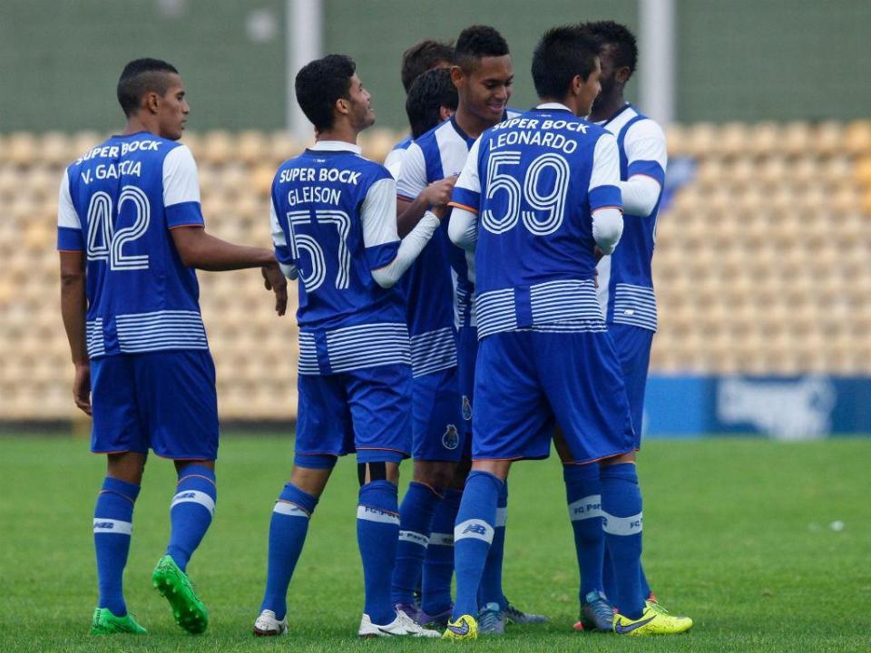 FC Porto B em grande  cinco talentos à espera de Lopetegui ... 7fcb93f59f0f0