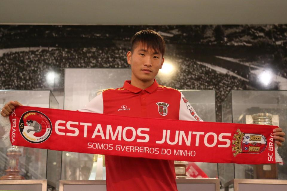 Sp. Braga contrata chinês Li Rui