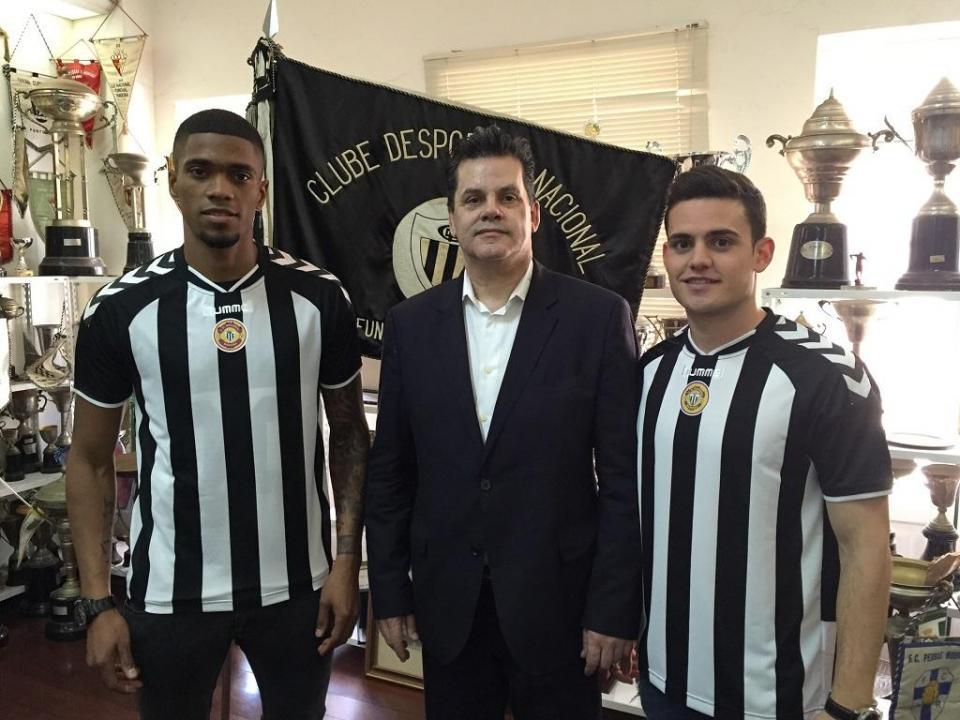 OFICIAL: Rodrigo Pinho, Joan Roman e Ricardo Gomes no Nacional