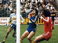 1980, Argentinos-Boca: e o melhor guarda-redes chama gordo a Maradona