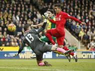 Norwich-Liverpool (Reuters)