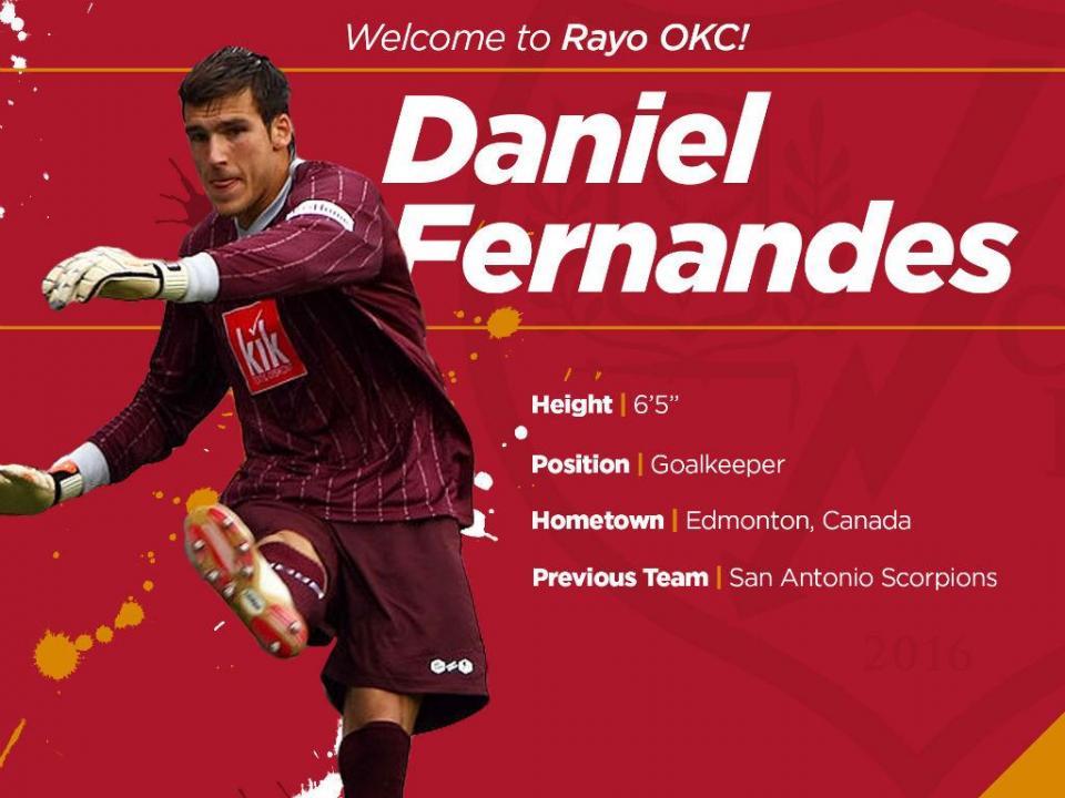 Entrevista a Daniel Fernandes: «Sonho jogar na liga portuguesa»