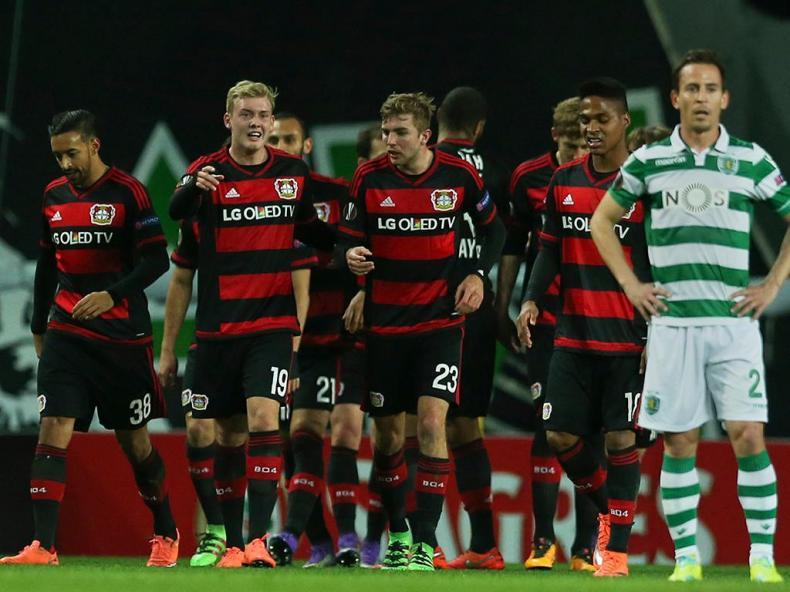 Sporting-Leverkusen (Lusa)