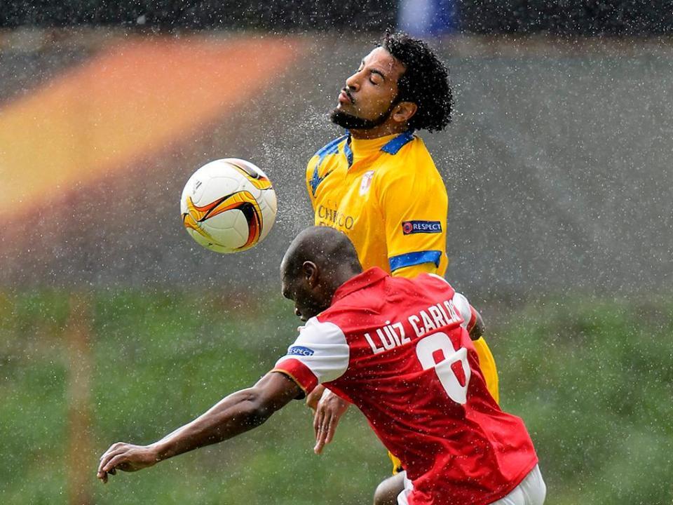 Golo de Carlitos e bis de ex-Sporting no empate no Sion-Basileia