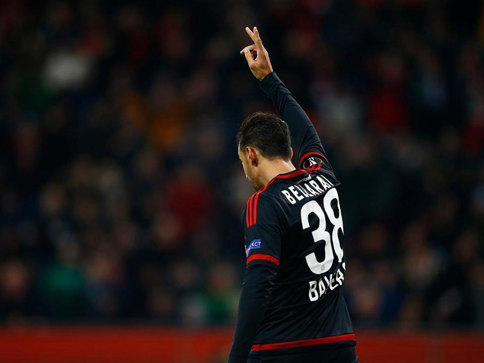 Bayer Leverkusen: Bellarabi já teve alta após sofrer colapso
