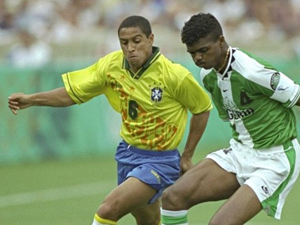 1996: Nigéria-Brasil: o génio de Kanu a fazer história para África