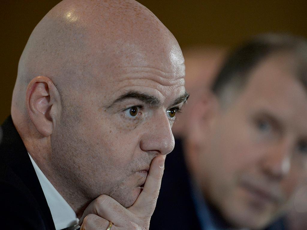 Presidente da FIFA não estará no Iraque-Arábia Saudita