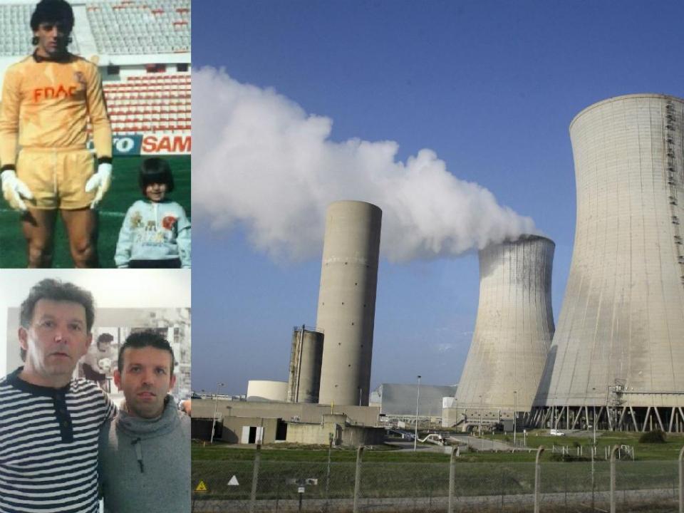 Da baliza do Benfica ao trabalho em centrais nucleares