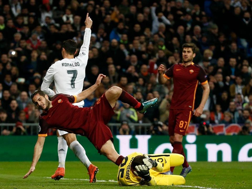 A provocação da Roma a Cristiano Ronaldo