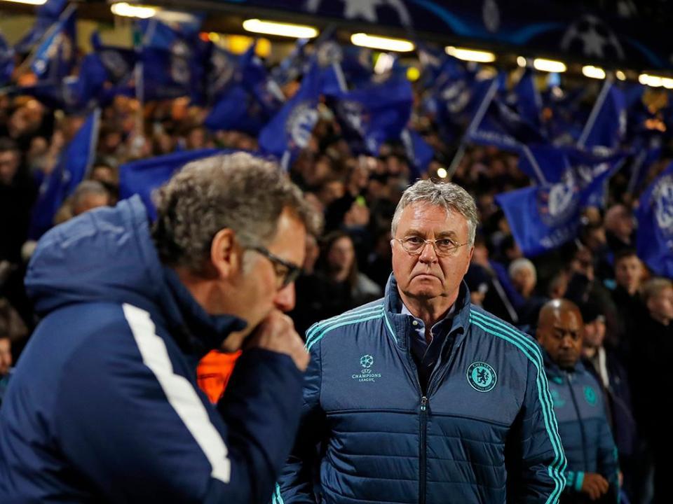 Leicester: Gus Hiddink não quis suceder a Claudio Ranieri