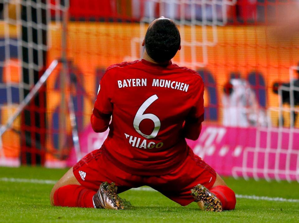 Atenção Benfica: Bayern perde Thiago Alcântara por várias semanas