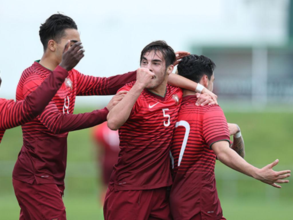 Resultado de imagem para Portugal está na final do Campeonato da Europa sub-19