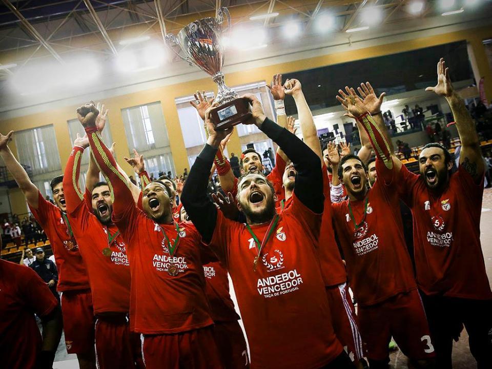 Benfica vence Taça de Portugal de andebol