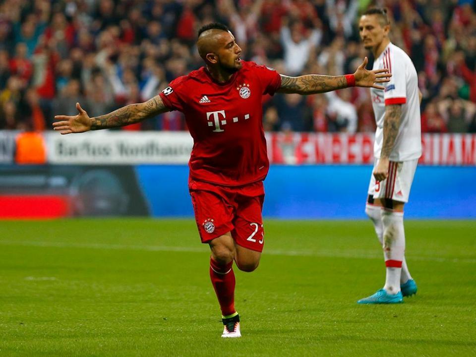 Vidal abandona concentração do Bayern e está a caminho do Barcelona