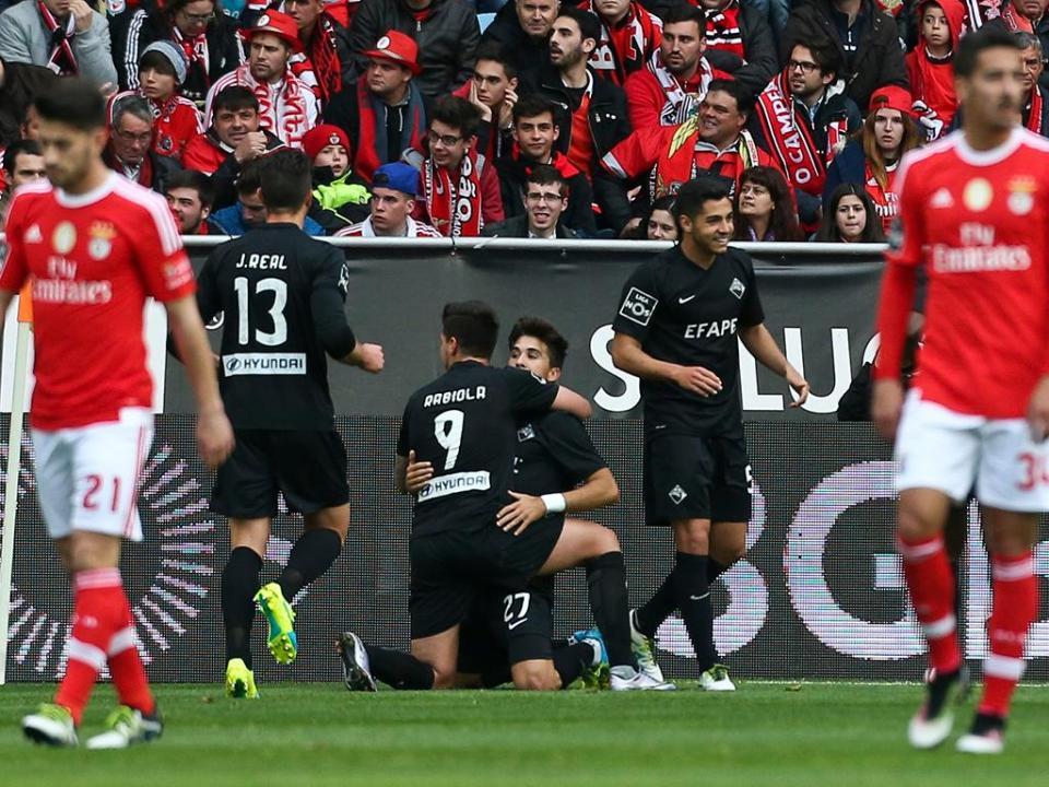Filipe Gouveia: «O Benfica foi mais forte e constante»