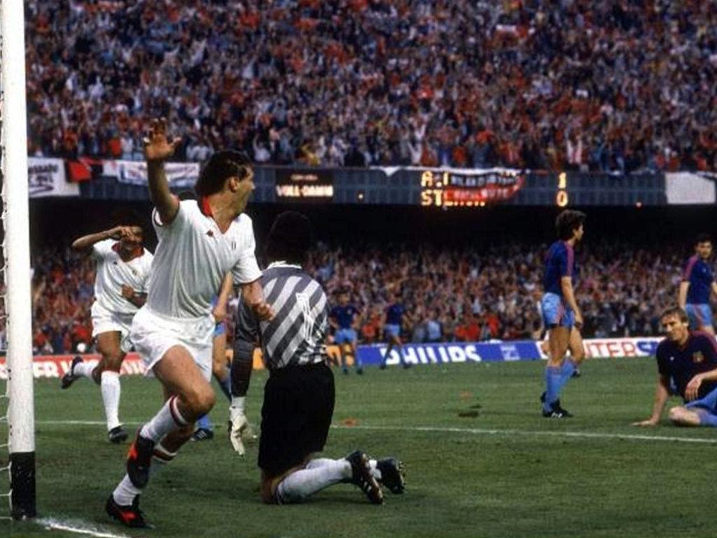 1989, Milan-Steaua, a mais bela estrofe da métrica de Sacchi