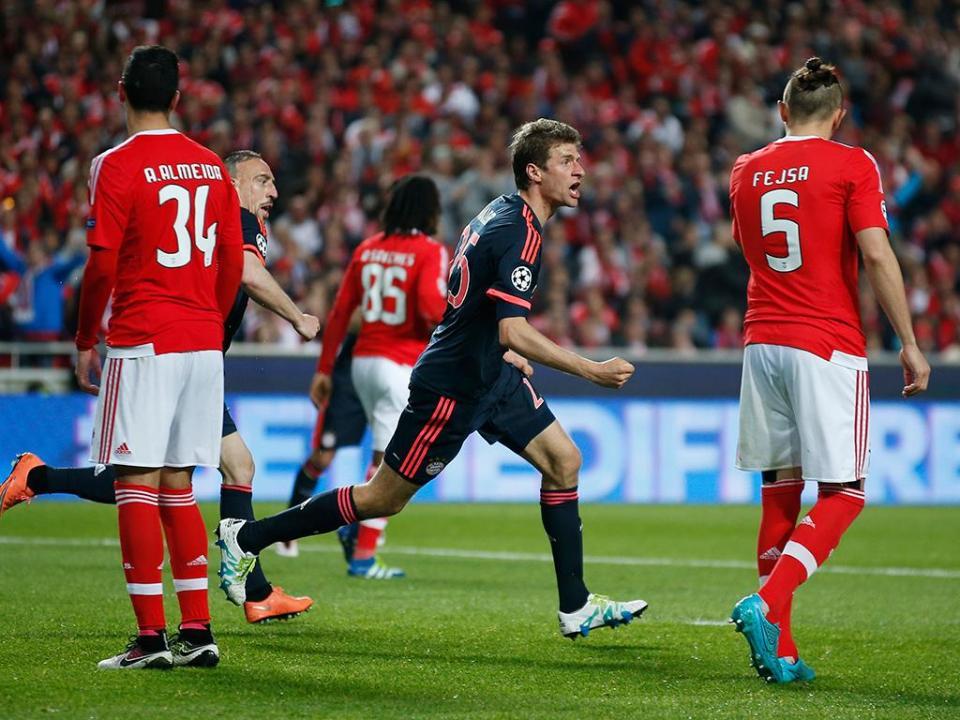 Thomas Müller: «O sorteio podia ter sido mais difícil»