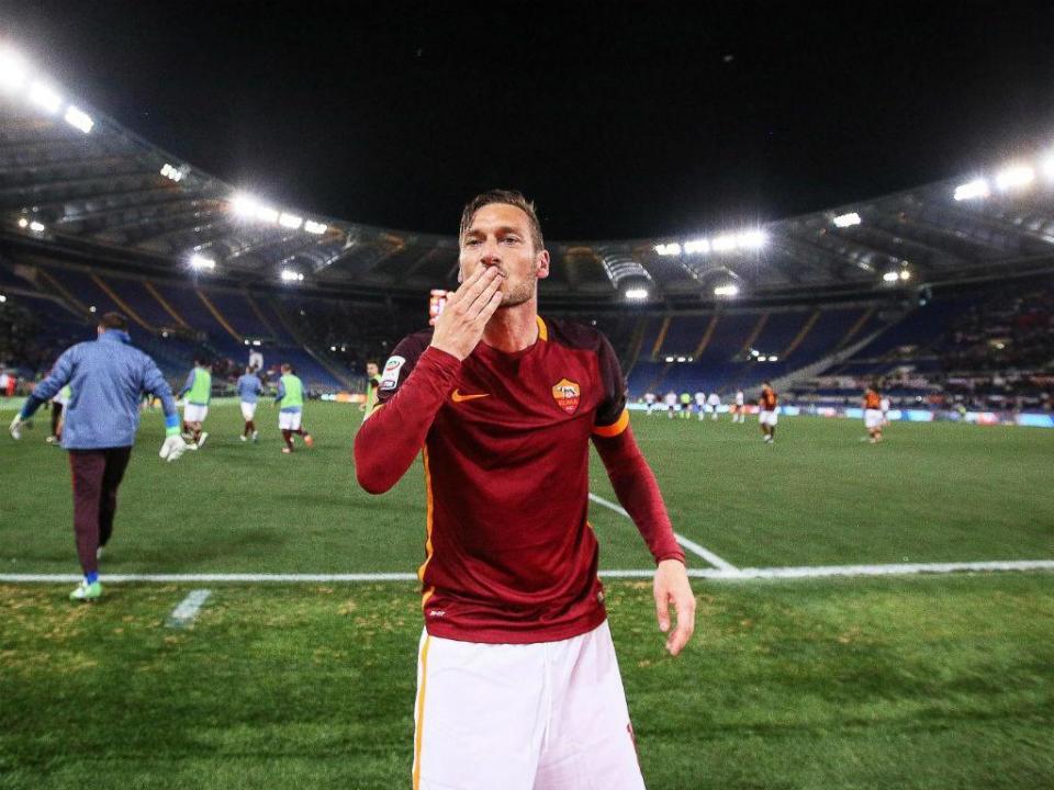 Totti: o golo-selfie para imortalizar o eterno capitão