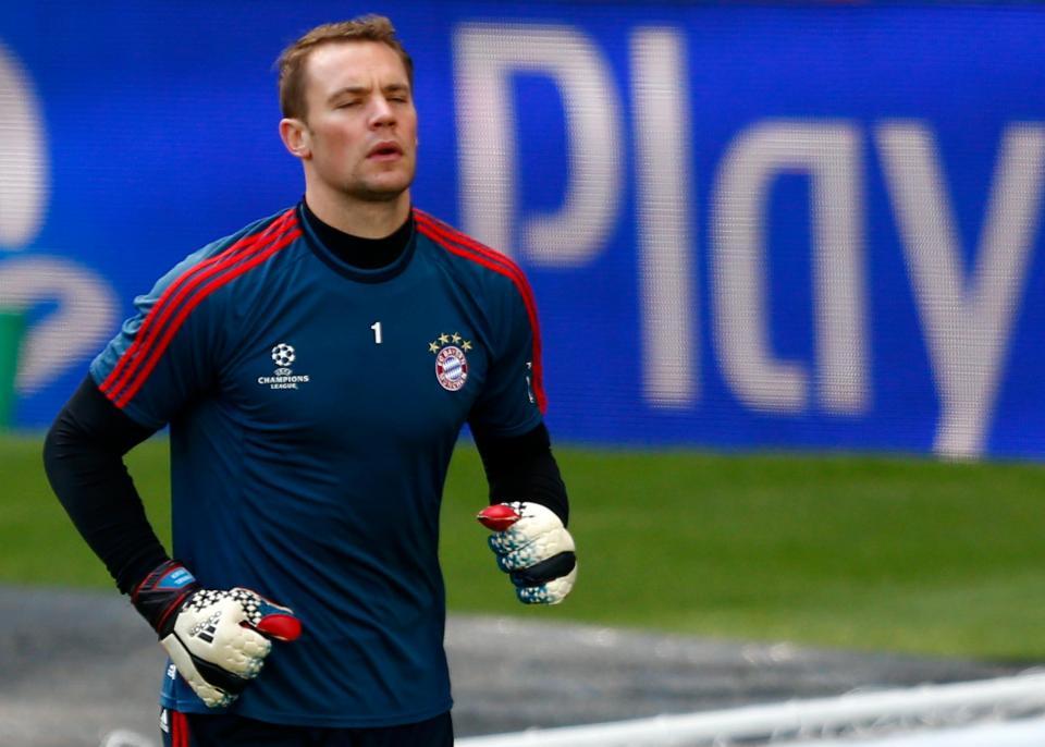 Bayern: Neuer já pisa o relvado