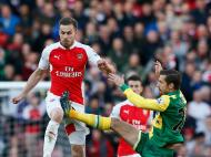 Arsenal-Norwich (Reuters)