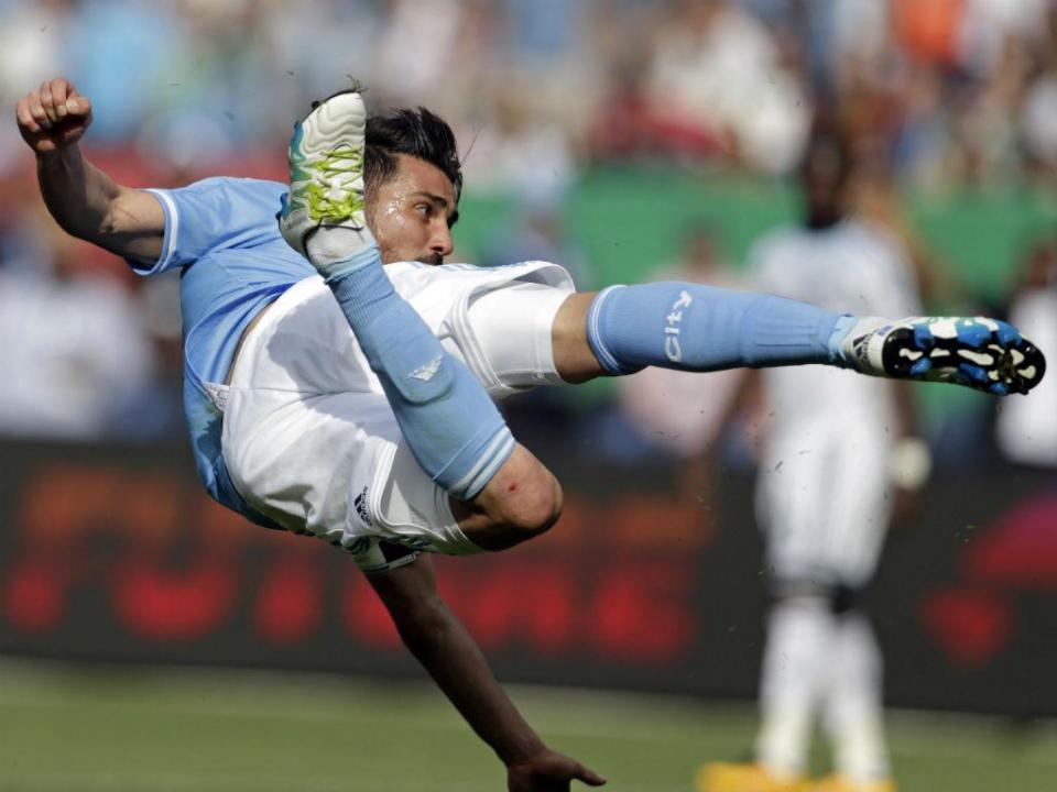 David Villa bisa e alcança os 400 golos na carreira