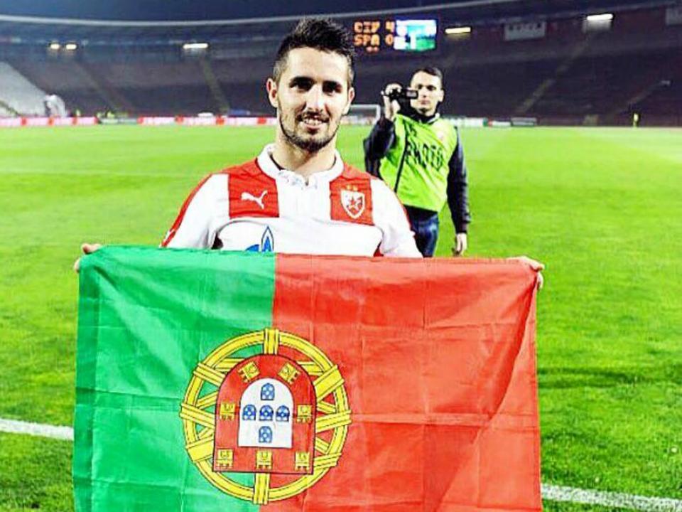 Sérvia: Hugo Vieira eleito jogador do ano pelos colegas de profissão