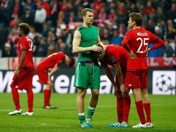 Sofrer em casa: o trauma do Bayern agudiza-se