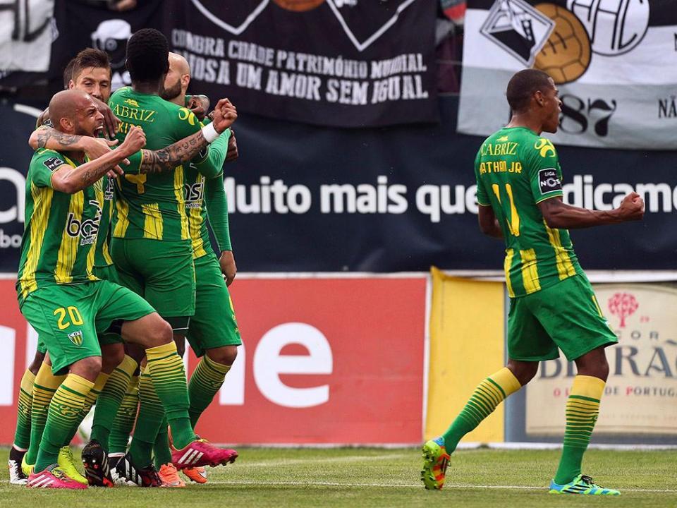 Tondela inicia a 8 de agosto venda de bilhetes para o Benfica