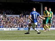 Everton-Norwich (Reuters)