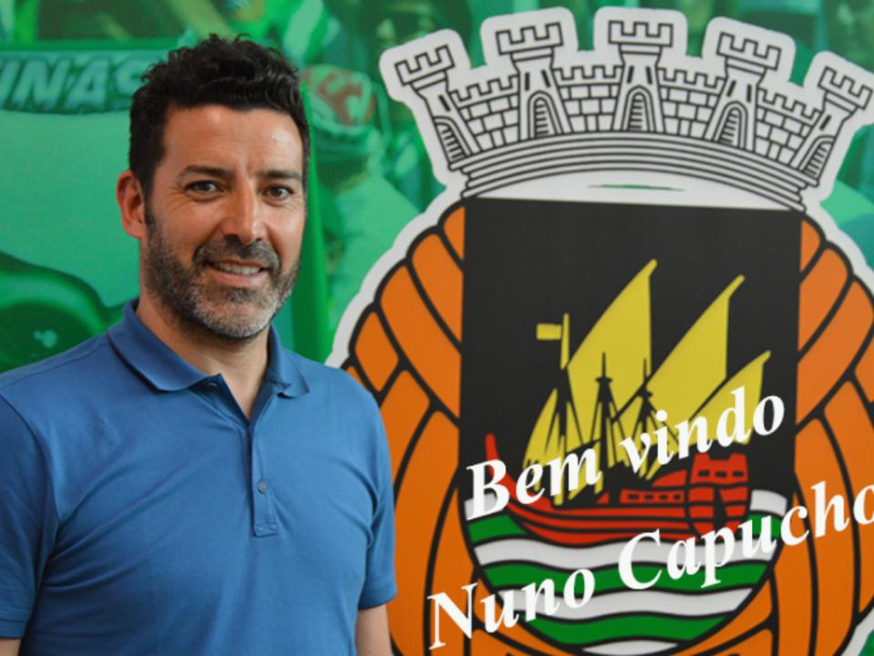 Oficial: Capucho é o novo treinador do Rio Ave