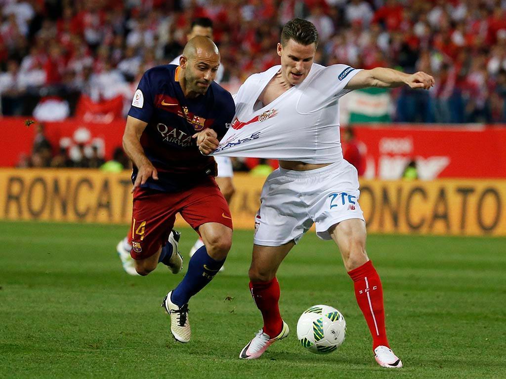 Mascherano: «Perdi o protagonismo que tinha no Barcelona»