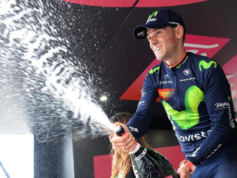 Ciclismo: Valverde vence etapa e Molard lidera Vuelta