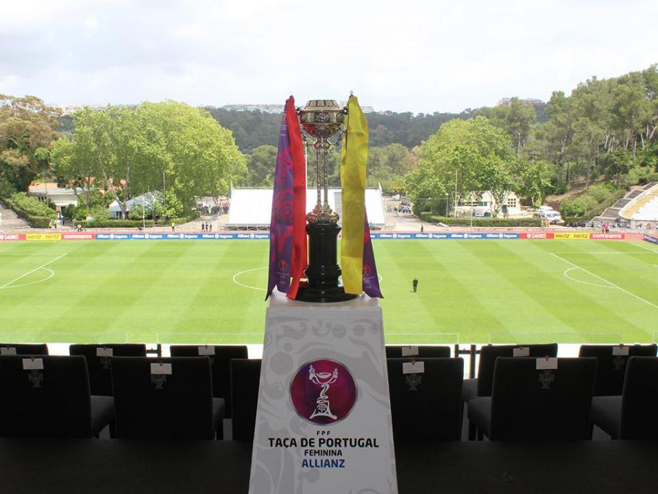 Futebol feminino: Valadares Gaia carimba final da Taça de Portugal
