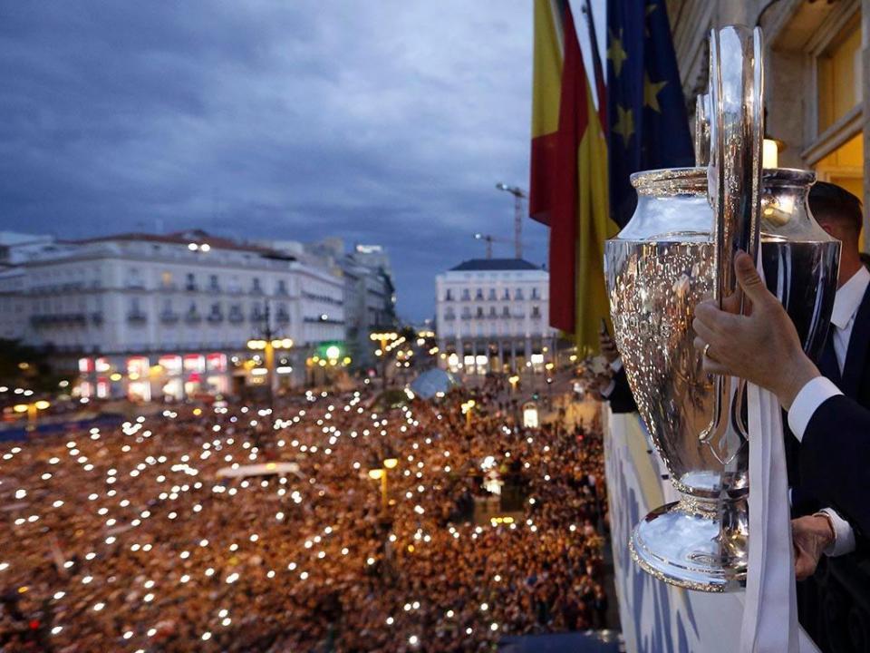 Liga dos Campeões: Festejos em Madrid causam 38 feridos