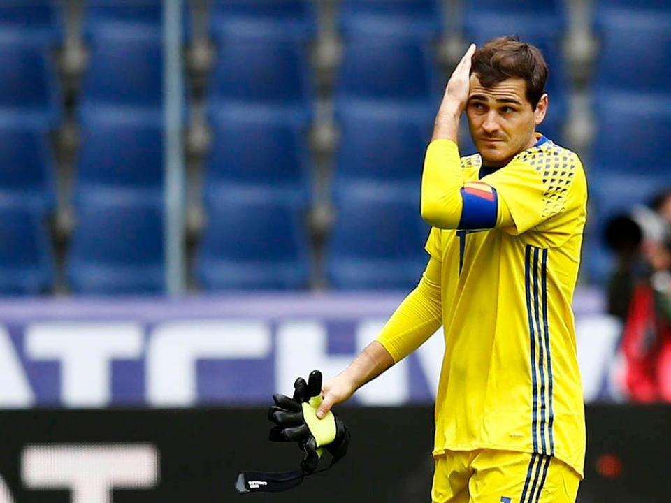Casillas e a seleção espanhola: «Tenho esperança que me chamem»