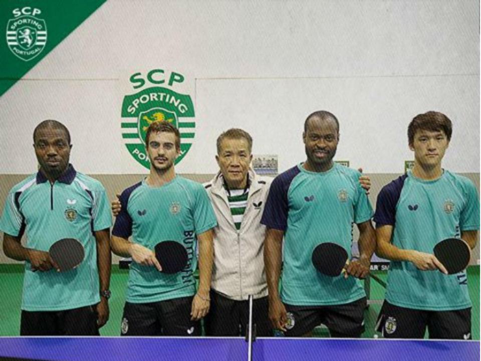 Ténis de mesa: Sporting soma segundo triunfo na Champions