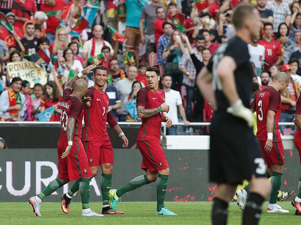 Portugal recebe Argélia na Luz antes de partir para a Rússia
