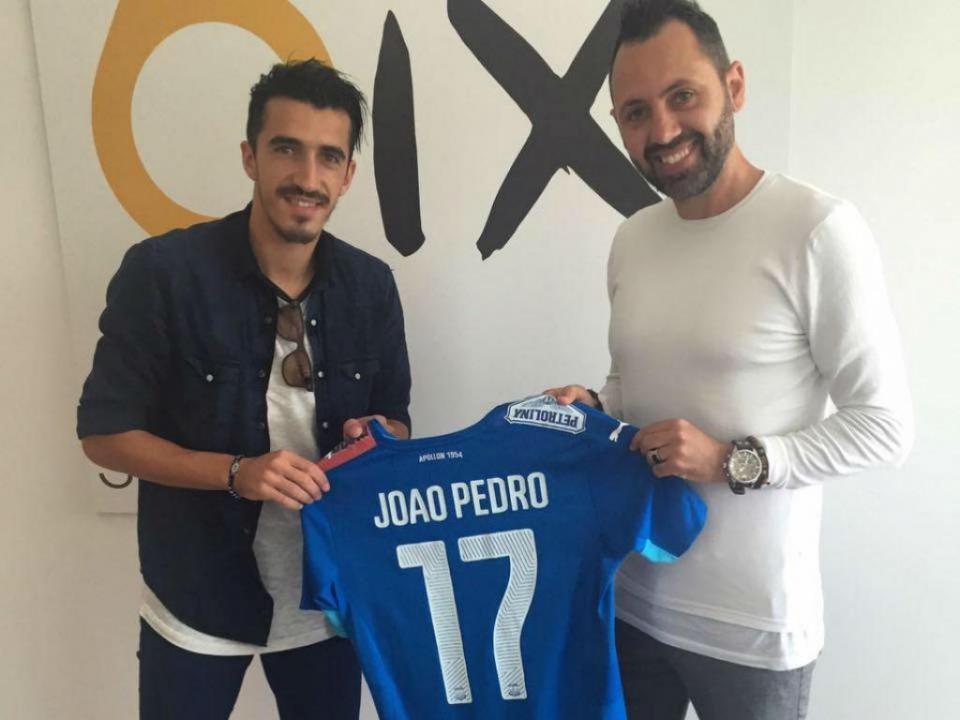 João Pedro rescinde com Sp. Braga e assina pelo Apollon