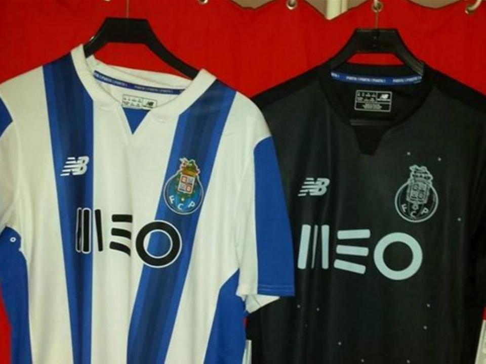 FOTO  o pormenor vermelho da nova camisola do FC Porto  f08559354de1f